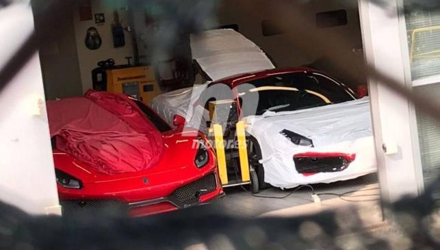 Ferrari 488 GTO fotos espía