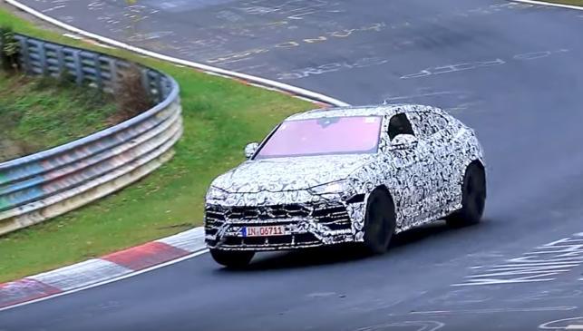 Lamborghini Urus en Nürburgring SUV deportivo