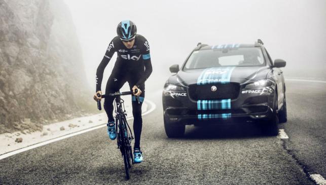Los coches del Team Sky:: Jaguar F-Pace