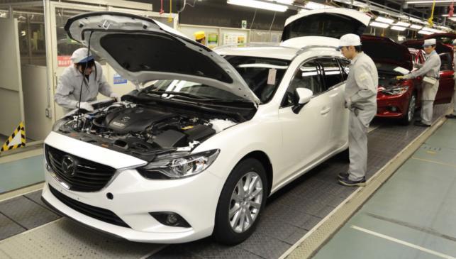 Mazda6 producción