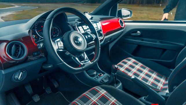 Tapicería tartán Volkswagen Golf GTI