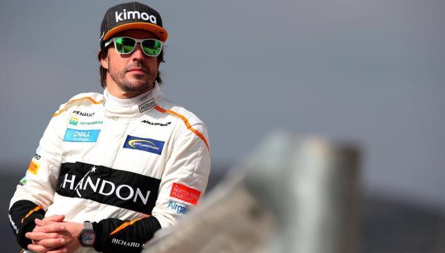 Alonso en el GP Australia F1 2018