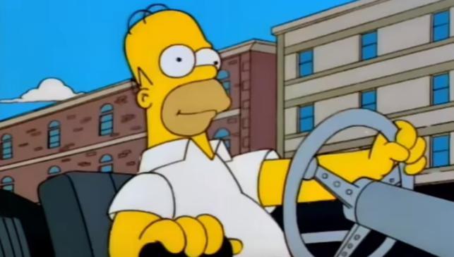 'Homer Simpson', detenido en Inglaterra