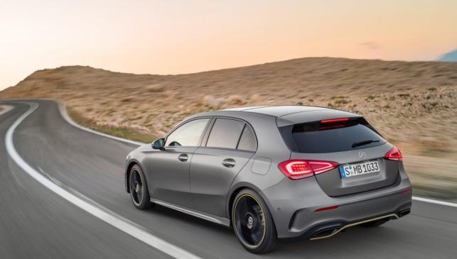 Mercedes Clase A 2018 (dinámica)
