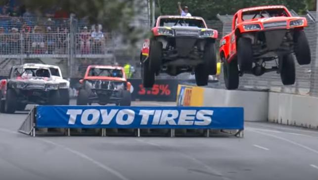 Super Trucks en acción