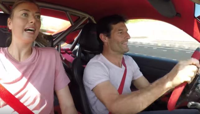 Webber acongoja a Sharapova en un 911