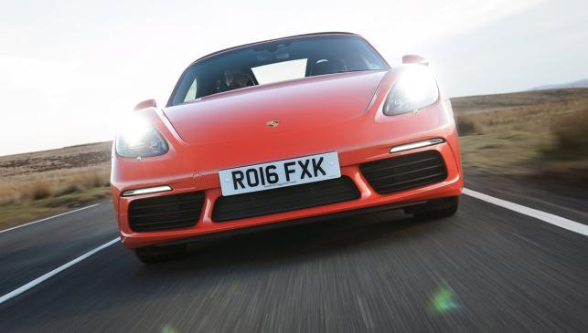Porsche 718 Boxster (frontal)