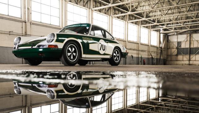 Porsche 911 restaurado - 70 aniversario