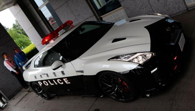 Nissan GT-R Policía de Japón