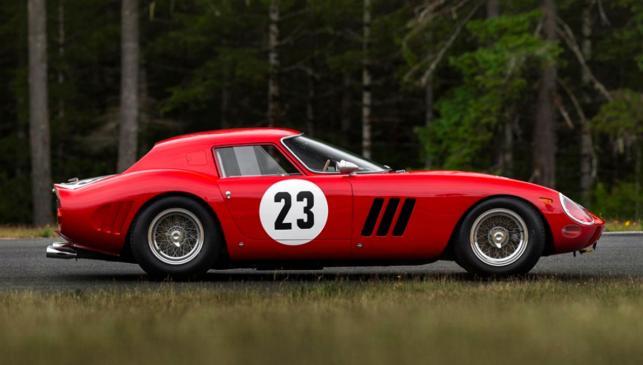 Subasta Ferrari 250 GTO del 62