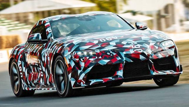 El nuevo Toyota Supra en Goodwood