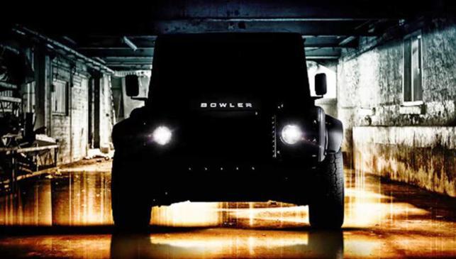 El Land Rover Defender de Bowler