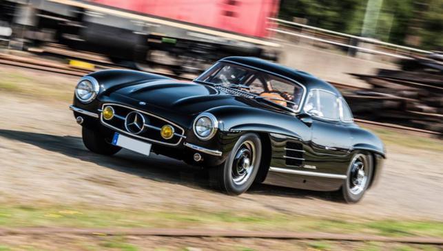 Robado un Mercedes 300 SL en Nürburgring