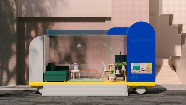 Coche autónomo Ikea