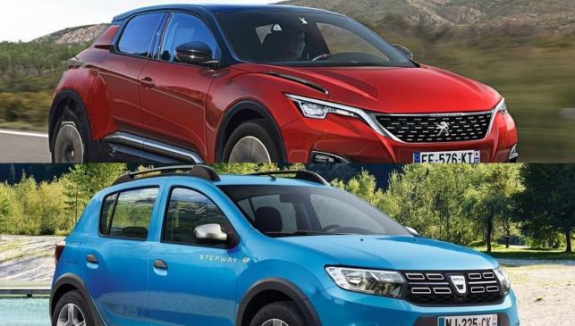 Peugeot 1008 vs Dacia Sandero Stepway