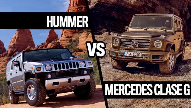 Hummer vs Mercedes Clase G