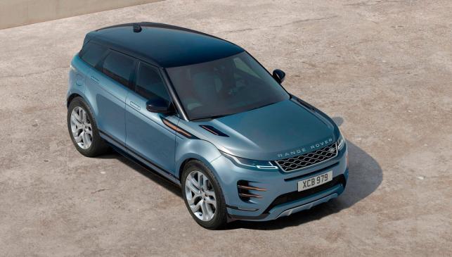 Range Rover Evoque 2019 (aérea)