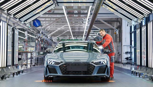 Audi R8 fábrica