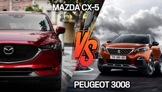 Mazda CX-5 o Peugeot 3008