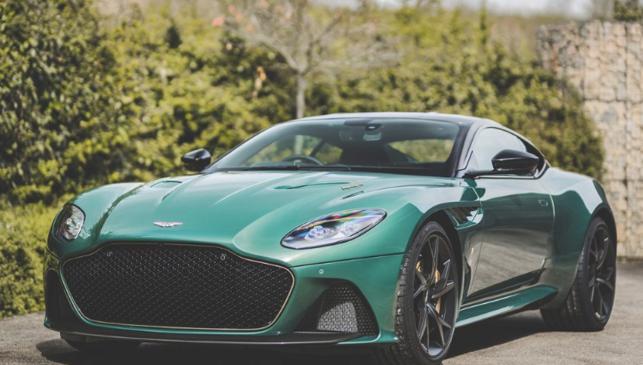 Aston Martin DBS 59 Superleggera, tres cuartos delantero