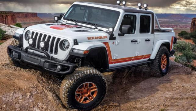 Concept Jeep JT Scrambler