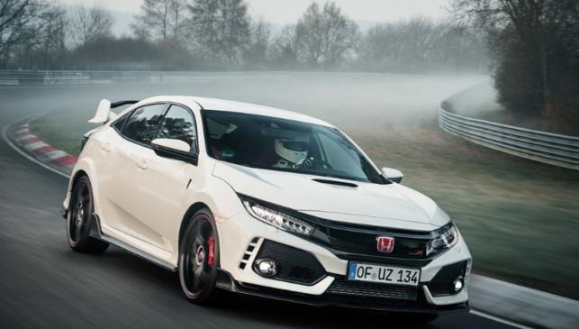 Superdeportivos con motores pequeños, Honda Civic Type R
