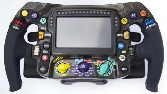Volante F1 Mercedes-AMG