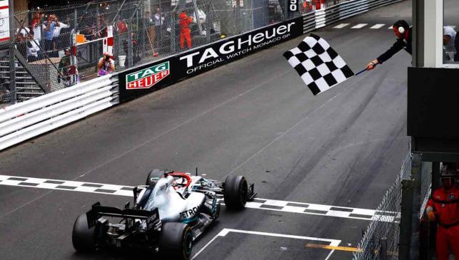 Hamilton GP Mónaco 2019