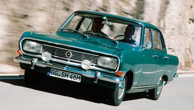 El predecesor del Opel Omega