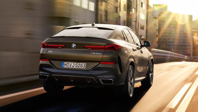 BMW X6 trasera