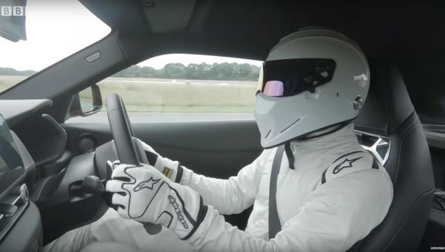 Stig piloto tiempo rapido velocidad
