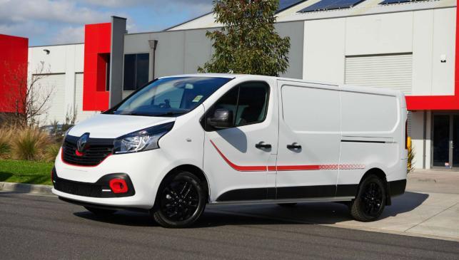 Renault Trafic Fórmula Edition